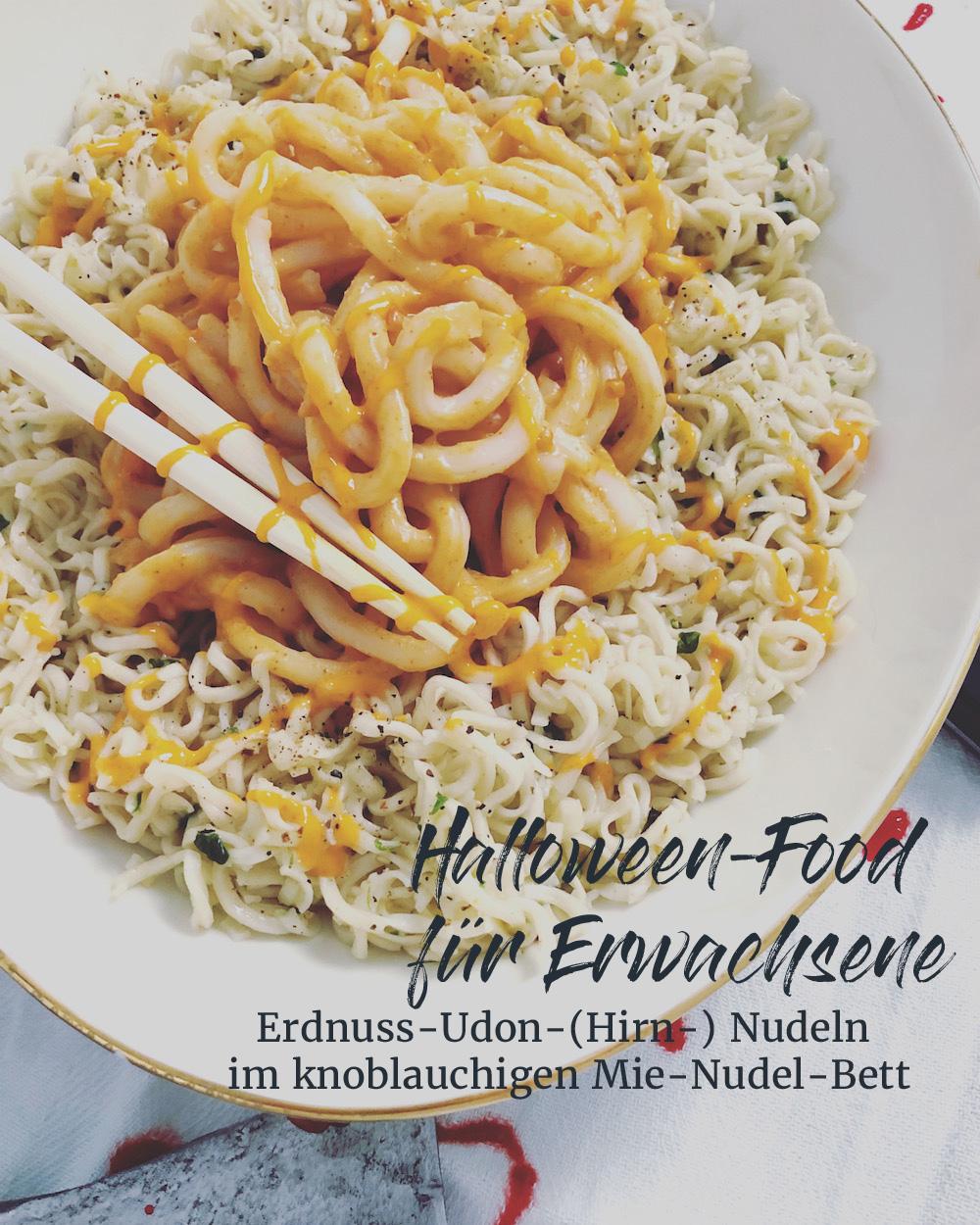 Halloween Nudelsalat