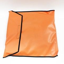 Evac Chair Canada Zoe Swivel Patient Shield Ems Stretcher Pouch Orange  Ferno