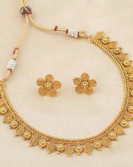 Gold Plated Copper Set