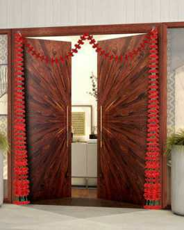 Marigold Diwali door decoration
