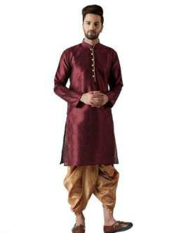 Party Wear Men's Kurta Sets: 01