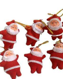 Mini Santa Claus hanging decoration party