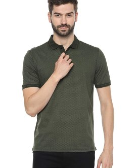 Louis Philippe Men's Regular Fit Polo