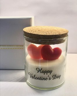 Valentine Day SOYA jar Scented Candle