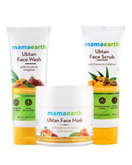Mamaearth Tan Removal Regimen :3 Combo Pack