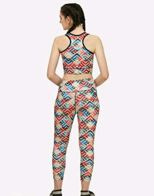 Trendy Women's Rapid Dry Sports Upper And Lower For Yoga
