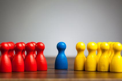 <strong>Mediation vermittelt zwischen zwei Parteien.</strong> © michaeljayberlin - Fotolia.com