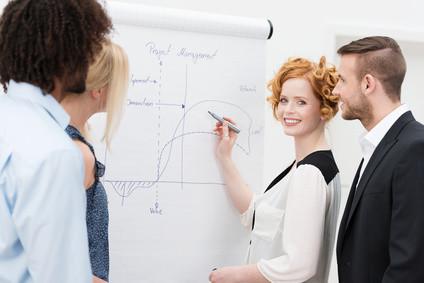 <strong>Lernen Sie im Fernstudium Projekt Management, was die wichtigsten Aufgaben eines Projektmanagers sind.</strong> © contrastwerkstatt