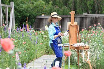 Malerei kann ein entspannender Ausgleich zum stressigen Alltag sein. Foto: Sage Ross / wiki commons