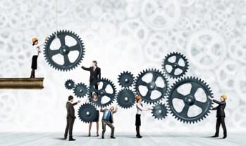 <strong>Bringen Sie ihre Personal- und Organisationsstrukturen in Einklang.</strong><br/>© Sergey Nivens - Fotolia.com