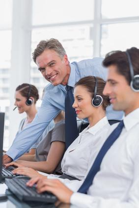 <strong>Der Call Center Manager/in hat ein breites und spannendes Aufgabenspektrum.</strong> © WavebreakmediaMicro - Fotolia.com