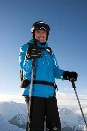 """Beruflich """"auf die Piste""""? Als Skilehrer kein Problem. © mma23 - Fotolia.com"""