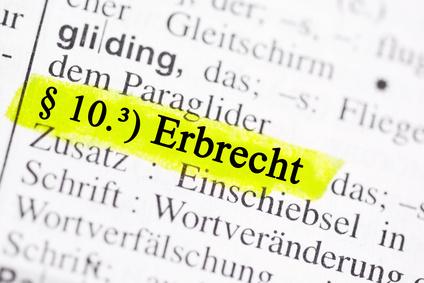<strong>Werden Sie per Fernstudium Fachanwalt für Erbrecht.</strong><br /> © Marco2811 - Fotolia.com