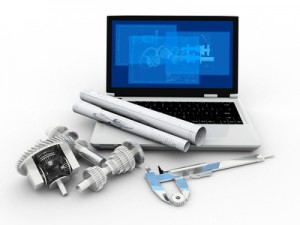 <strong>2D- und 3D-Modell mit dem CAD-Programm erstellt</strong> <br /> © empics - Fotolia.com