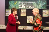 Karin Orpen and Editor Anne Boyd - Gully News Volunteers Party 2013. Photo: Barbara Oehring.