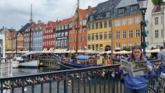Website Manager Meg Hellyer in Copenhagan.