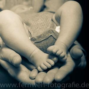 Babys Füße