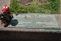 07-Aloha-Tower-Aloha-Oe-Plakette-Honolulu-Oahu-Hawaii