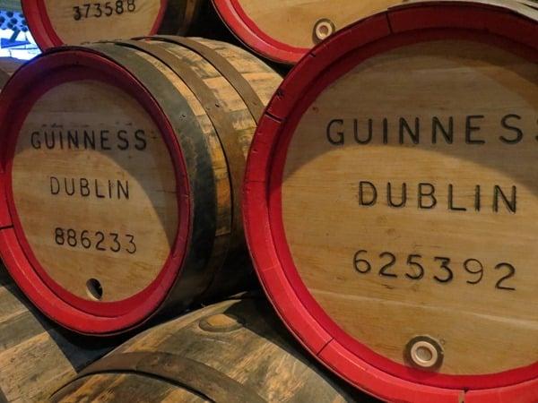 Guinness Storehouse Dublin Bierfass Irland