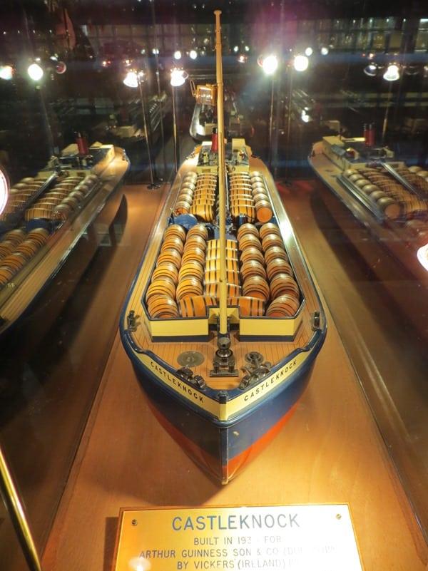 Guinness Storehouse Dublin Museum Schiff Irland