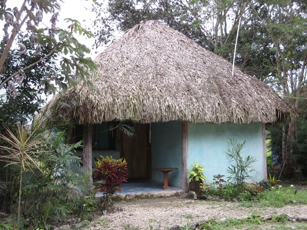 Cabanas Calakmul Mexiko Hütte
