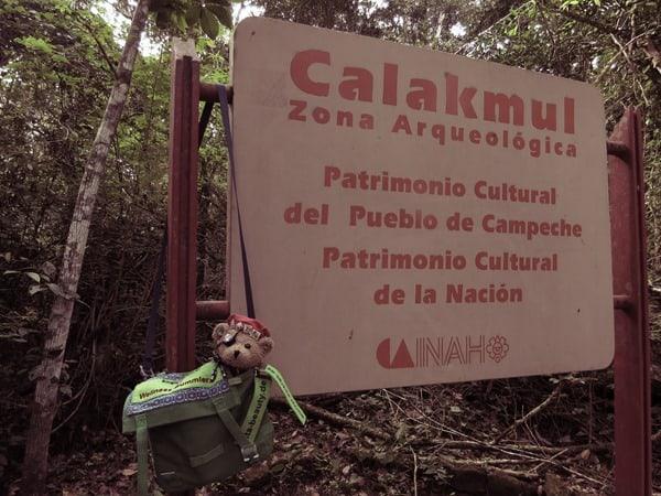 Calakmul Mexiko Maya Hochburg Archäolgische Zone UNESCO