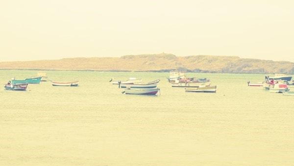 Sal Rei Hafenbecken Boa Vista Kapverden