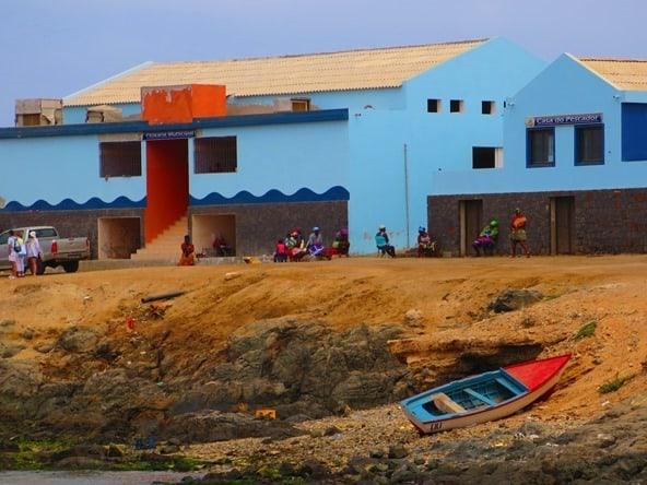 Sal Rei Hafenpromenade Boa Vista Kapverden