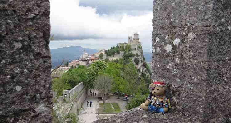00 La Rocca o Guaita Prima Torre San Marino Italien