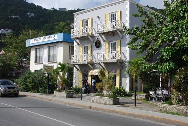 Polizei-Hauptquartier-Road-Town-Tortola-British-Virgin-Islands-Karibik