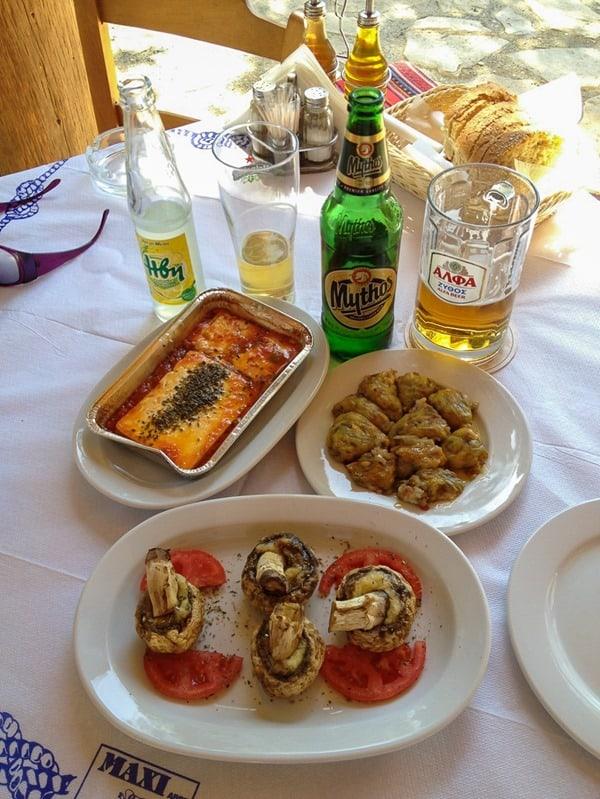 kreta-sueden-mittagstisch-meses-crete-greece-food