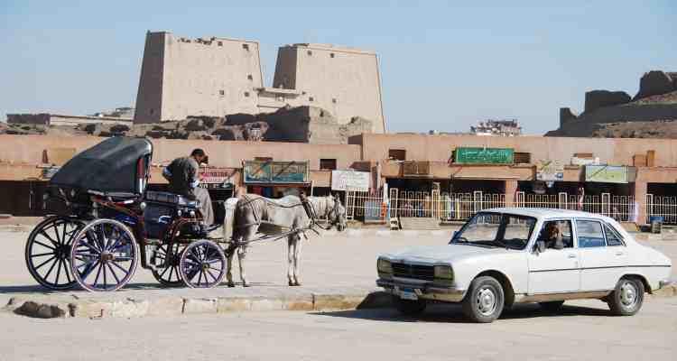 00 Horus Tempel Edfu Aegypten Nil Nilkreuzfahrt