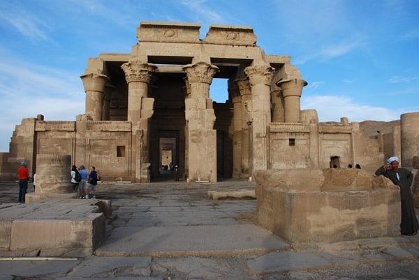 Doppeltempel von Kom Ombo Eingang Ägypten