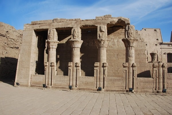 Horus Tempel von Edfu Geburtshaus des Harsomtus Ägypten Nil Nilkreuzfahrt