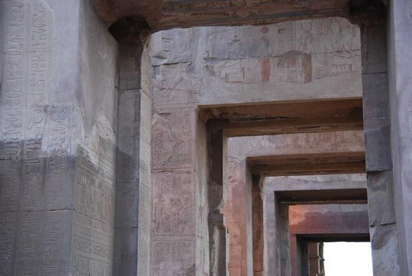 Doppeltempel von Kom Ombo Zugang Haroeris Heiligtum Ägypten