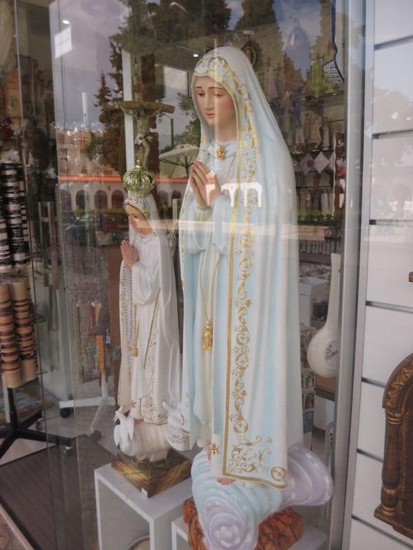 Wallfahrtsort Fatima Portugal Heilige Jungfrau Maria Andenkenladen