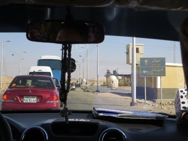 Fahrt nach Abu Simbel Ägypten Nilkreuzfahrt