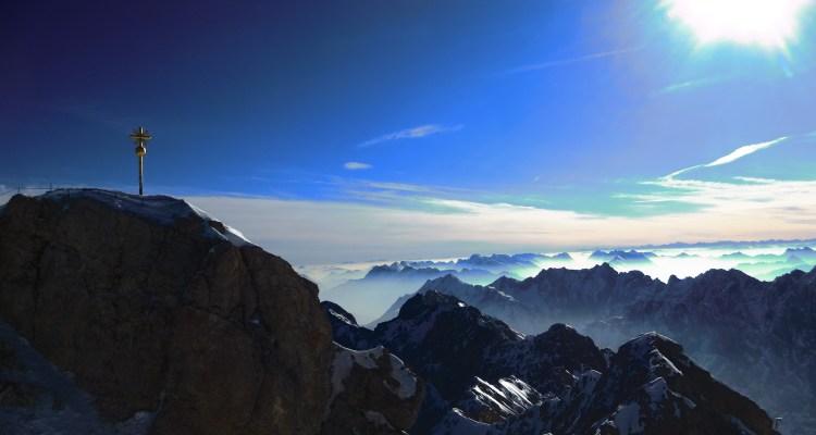 00 zugspitze gipfel panorama alpen