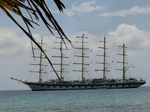 15_Karibik-Royal-Clipper-vor-St-Kitts