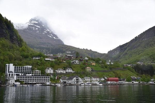 Geiranger Geirangerfjord Norwegen