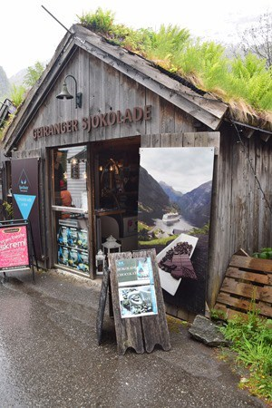 Geirangerfjord Geiranger Sjokolade Schokolade Norwegen