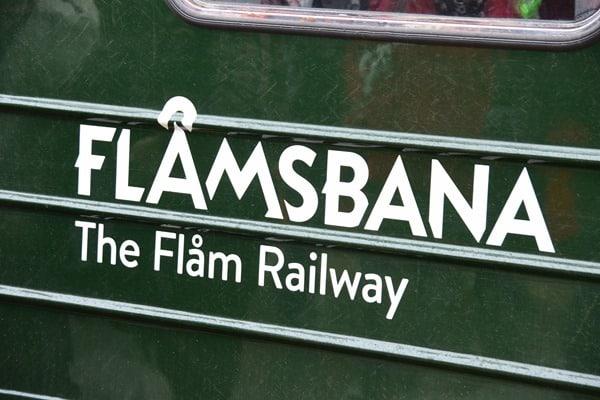 Flambahn Norwegen Bahnhof Mydral Flamsbana
