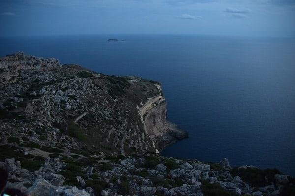 Malta Urlaub Sehenswürdigkeiten Tipps Klippen bei Dingli Dämmerung