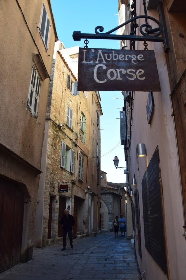 Bonifacio Korsika Gassen Altstadt Zitadelle Frankreich