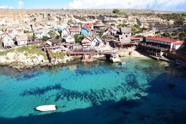 Malta Urlaub Sehenswürdigkeiten Tipps Popeye Village