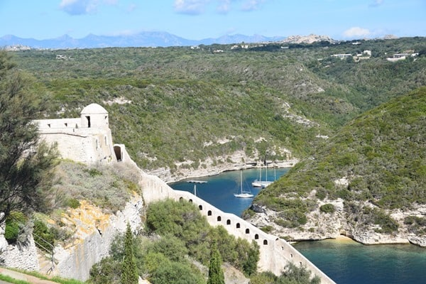 Bonifacio Korsika Bastion de l´Etendard Festung Frankreich
