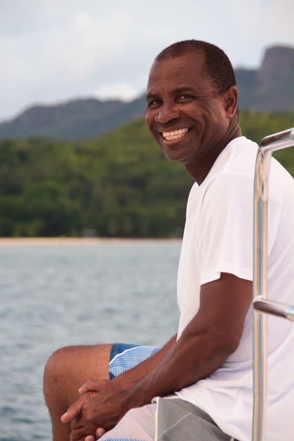 15_Captain-auf-Katamaran-Le-Gauguin-VPM-Bestsail-Seychellen