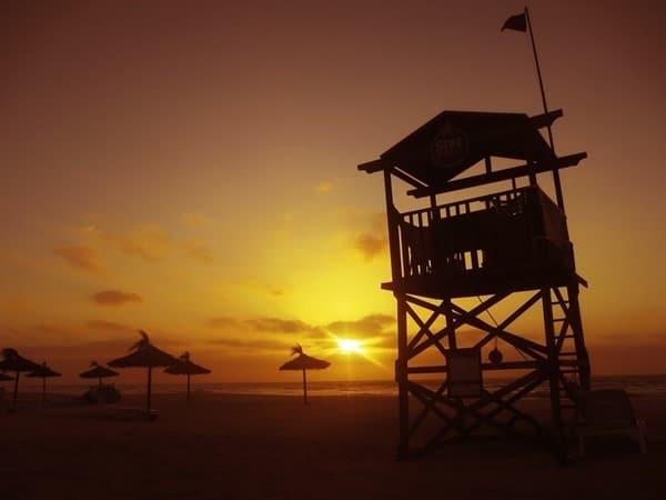 Hochzeitsreise wohin Boa Vista Kapverden Flitterwochen Sonnenuntergang Strand