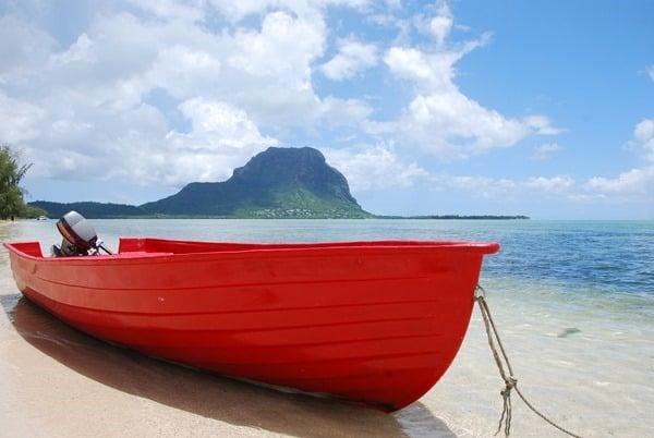 Hochzeitsreise wohin Mauritius Flitterwochen exklusiv Le Morne Brabant