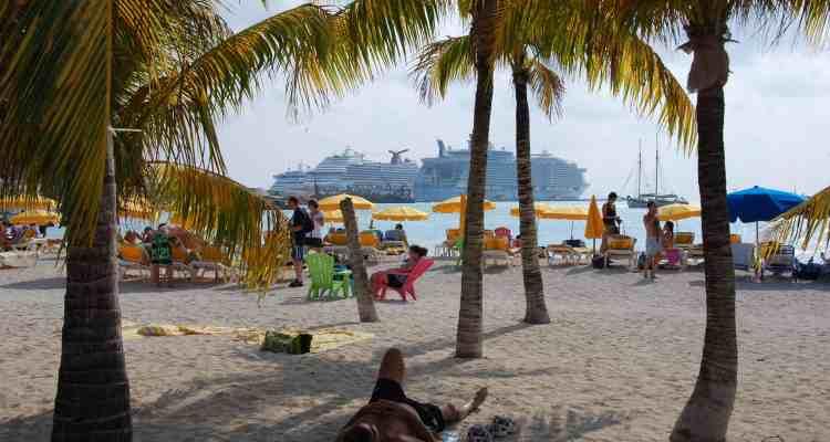Kreuzfahrt Saint Martin Karibik Strand